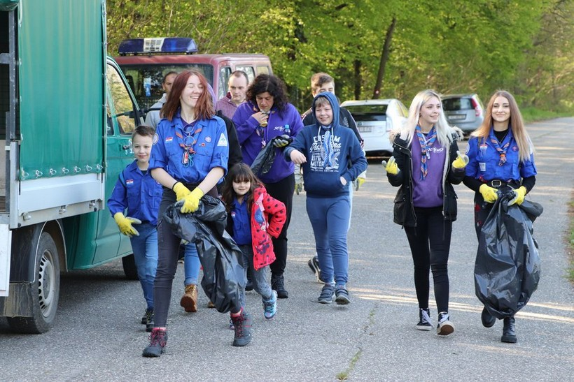 Gotovo 80 volontera odazvalo se na koprivničku Zelenu čistku