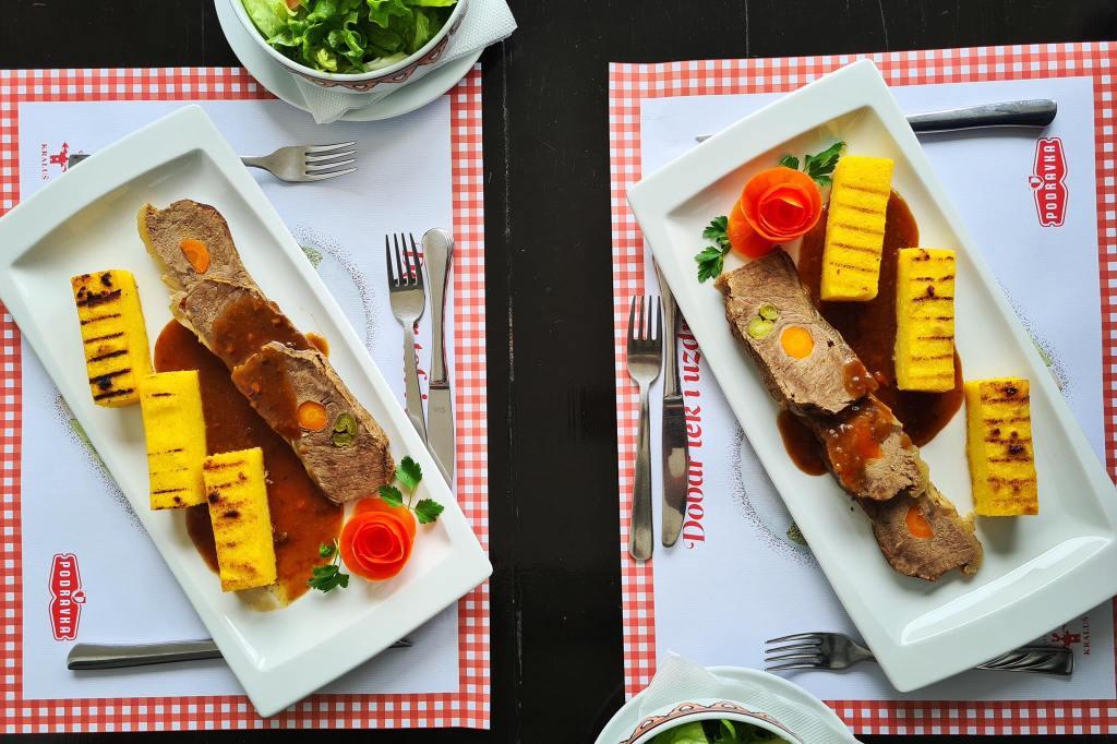 GASTRO TRAŽILICA U Podravkinom Kralušu dobro se jede, a mi smo probali špikovanu junetinu u povrtnom umaku