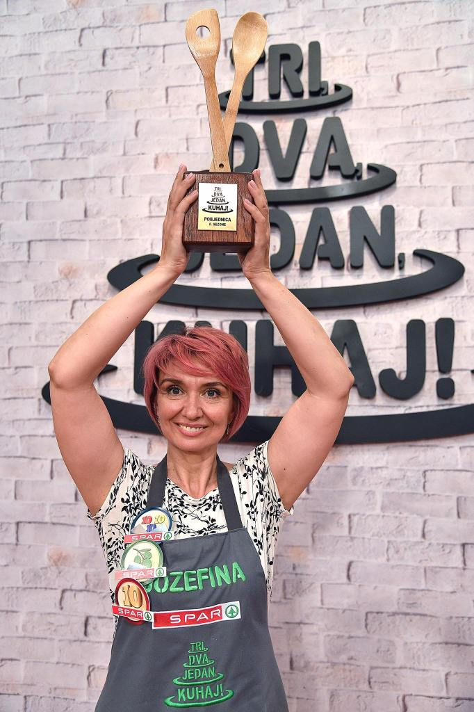 Jozefina Birindžić pobjednica je osme sezone showa 'Tri, dva, jedan – kuhaj!'