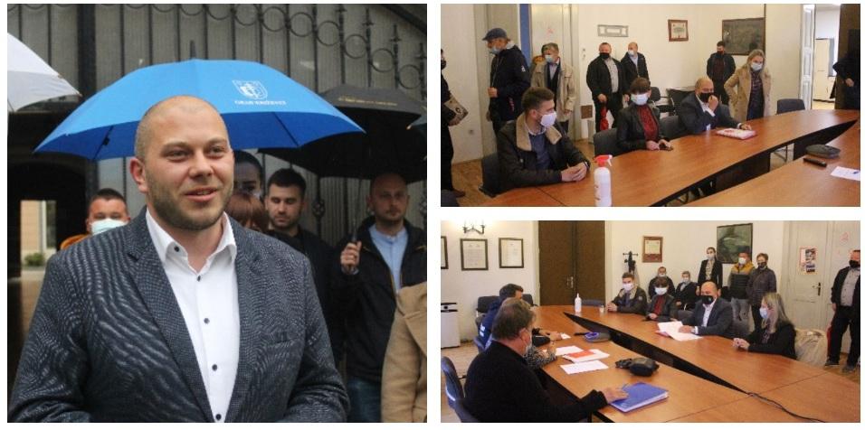 Marko Katanović (SDP) prvi predao potpise za gradonačelnika Križevaca