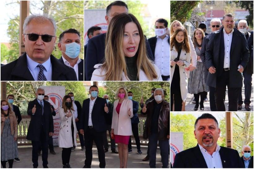 Željko Lacković sa suradnicima predao kandidacijske liste za župana, Županijsku skupštinu te gradonačelnika Koprivnice i Gradskog vijeća Koprivnice