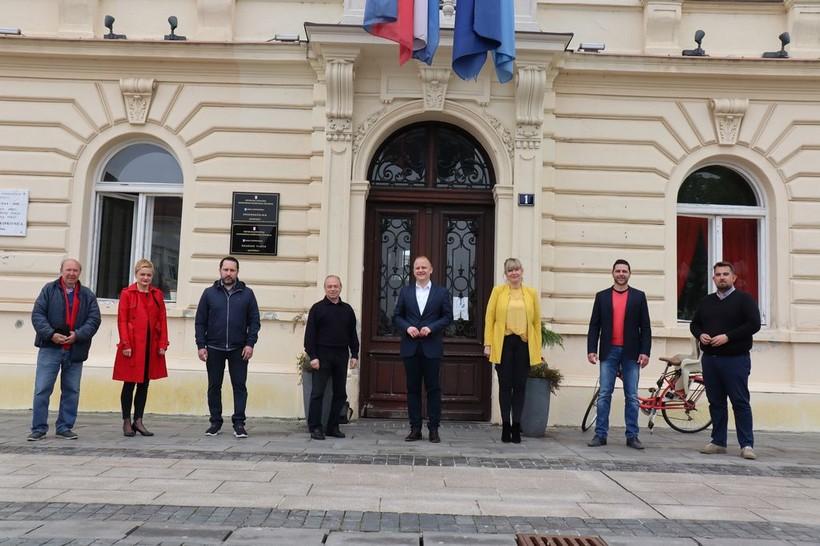 SDP i koalicijski partneri predali listu za gradonačelnika Koprivnice i gradsko vijeće