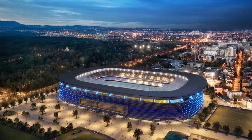 Dinamo predstavio projekt za novi stadion