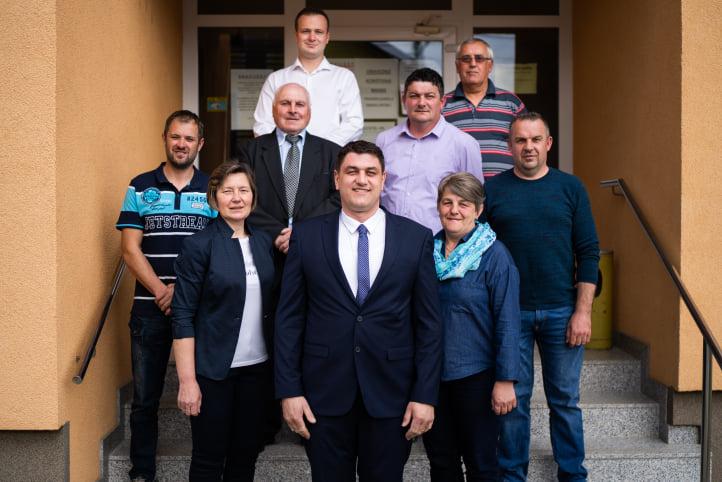 Predstavljena kandidacijska lista Demokratskog HSS-a i kandidata za načelnika Maria Švegovića