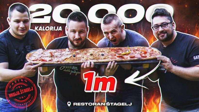 METAR PIZZA Ekipa Gastro tražilice i Gabudizator probali specijalitete restorana Štagelj
