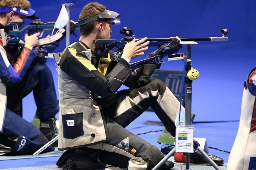 Luka Jambreuš iz SŠK Podravka najmlađi sudionik Europskog prvenstva u strijeljanju