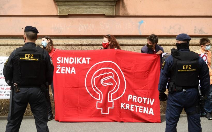 Zagreb: Prosvjed protiv Hoda na život