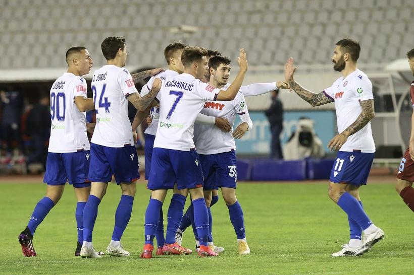 HNL: Hajduk – Rijeka 3-2