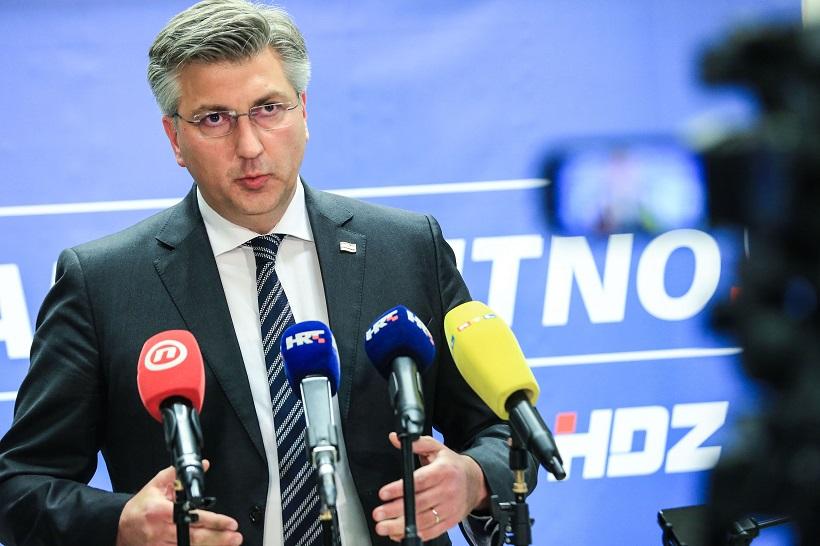 Plenković: HDZ pobjeđuje u 48 općina i gradova bez protukandidata