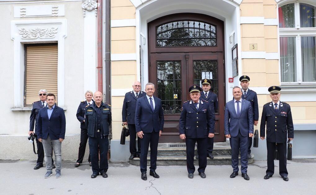 Župan održao prijem za predstavnike županijske Vatrogasne zajednice i javnih vatrogasnih postrojbi s područja Koprivničko-križevačke županije