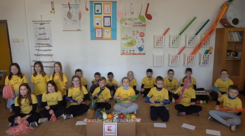 Učenici Osnovne škole Đurđevac pjesmom sudjelovali u nagradnom natječaju