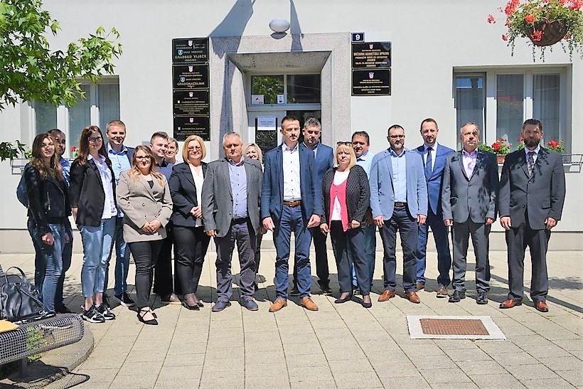 KONSTITUIRANO VIJEĆE Krunoslav Sohora izabran za predsjednika Gradskog vijeća Grada Vrbovca, potpredsjednici su Stjepan Fotović i Stjepan Tvorić