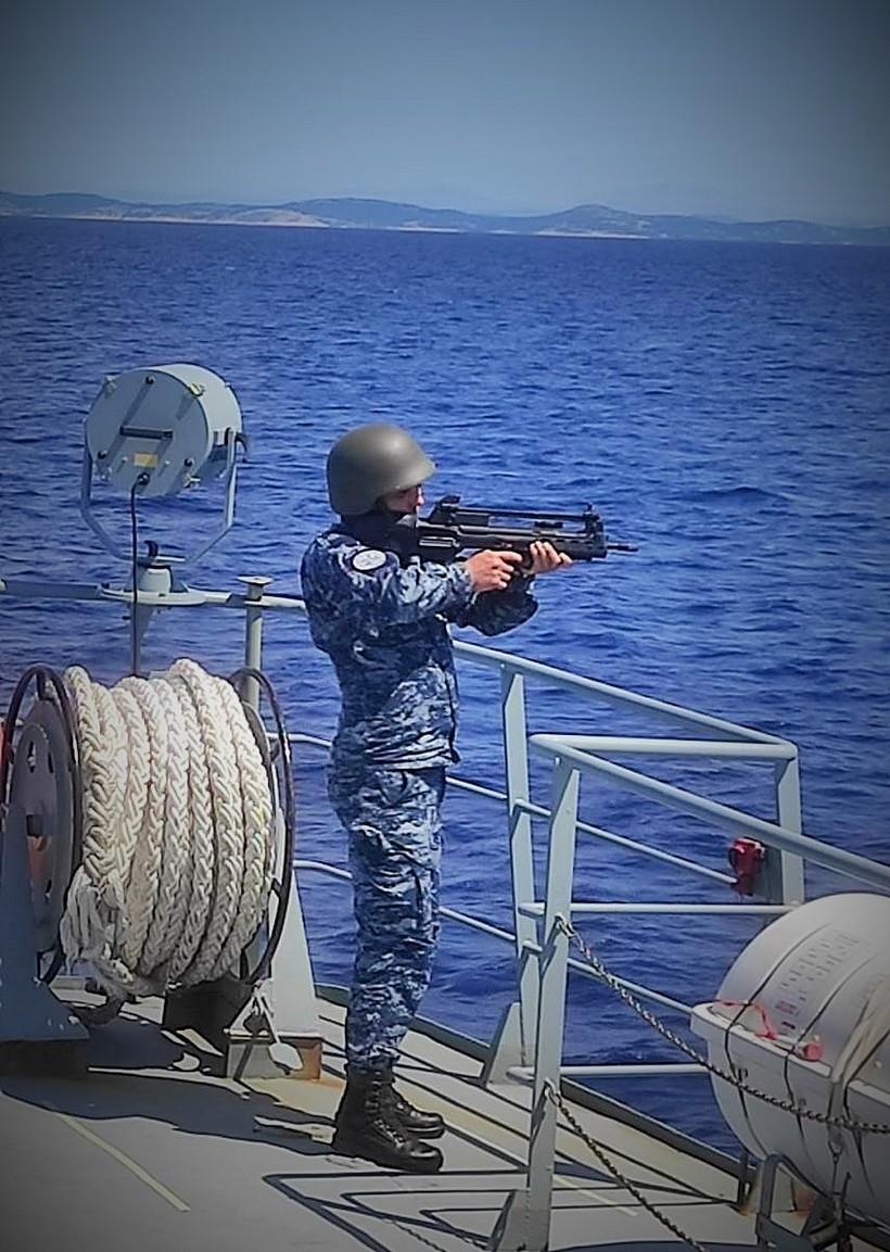 Provedene vojne vježbe HRM-a BARAKUDA 21 i PRSTAC 21