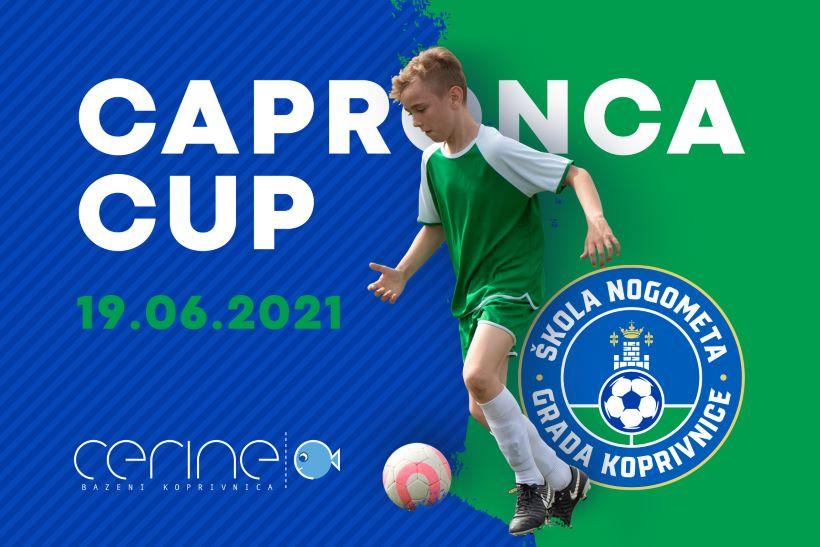 Capronca Cup: Veliki nogometni turnir kod Bazena Cerine
