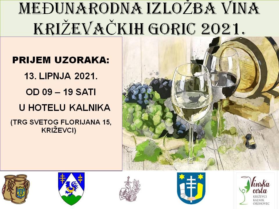 """Krenule prijave za Međunarodnu izložbu vina """"Križevačkih goric 2021"""" Udruge Bilikum"""