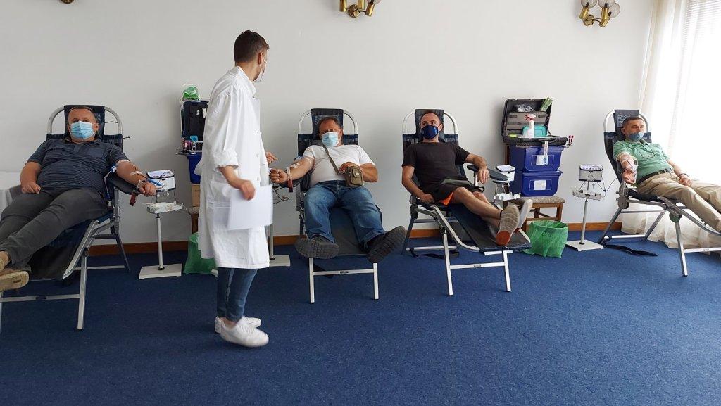 Križevci: U dvodnevnoj akciji prikupljene 152 doze krvi