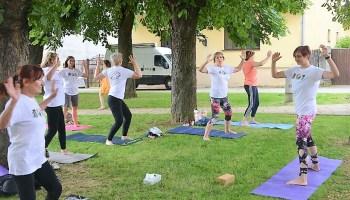 [FOTO/VIDEO] Joga i svatovska povorka u centru Križevaca
