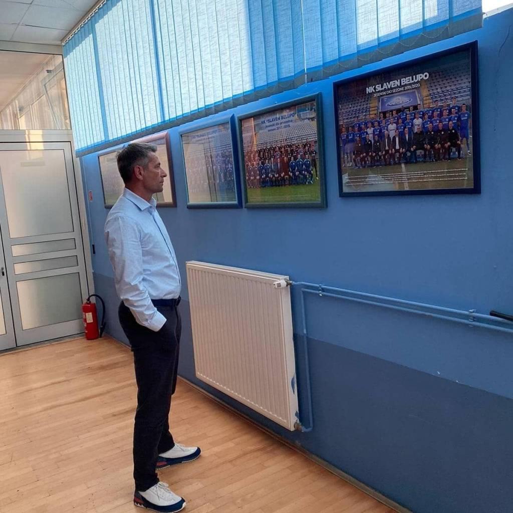 """Dean Klafurić: """"Dojam je fantastičan, želim da se vrati stara sinergija navijača i kluba"""""""
