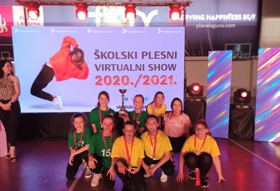 DRŽAVNO NATJECANJE Križevčanke osvojile treće mjesto u virtualnom plesnom showu