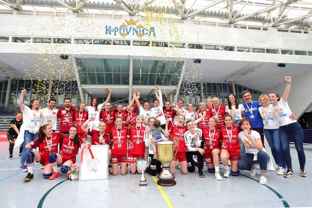 Podravkašice osvojile svoj 26. naslov prvakinja Hrvatske