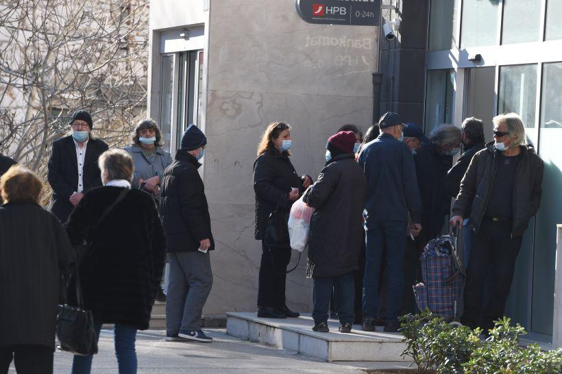 U Hrvatskoj 3,3 posto više umirovljenika u odnosu na prošlogodišnji svibanj