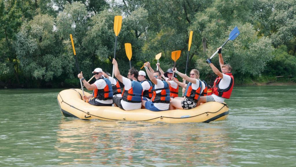 Brojni sudionici uživali u vožnji rijekom Dravom u sklopu projekta Podravina Adventure