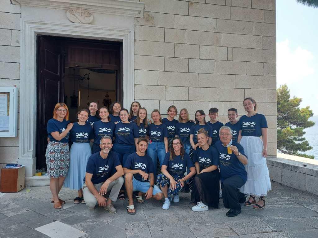 Mladi Bjelovarsko-križevačke biskupije u Omišu