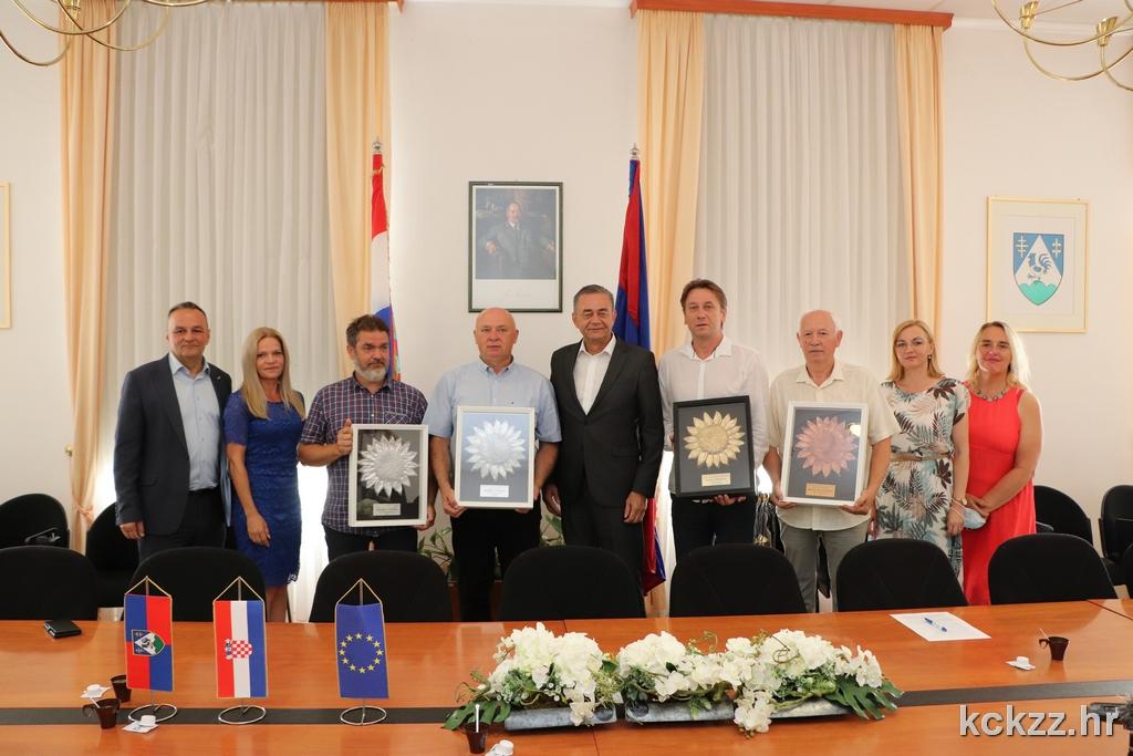🎦 Župan Darko Koren održao prijem za dobitnike nagrade Suncokret ruralnog turizma