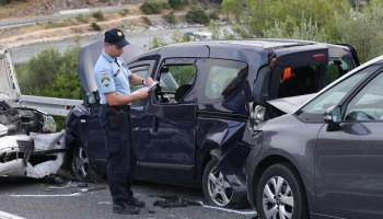 Teška prometna nesreća, ozlijeđene tri osobe