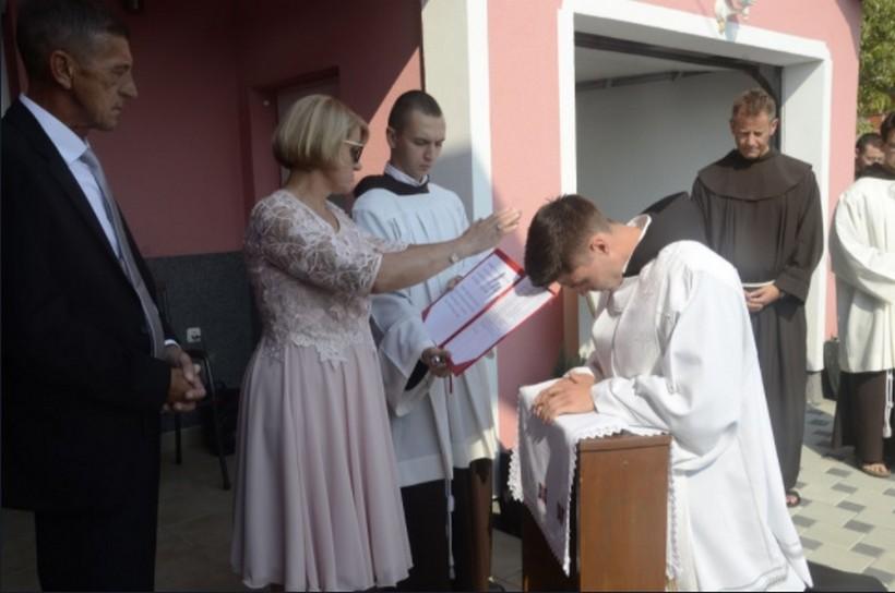 Mlada misa fra Darka Grmače u Kloštar Ivaniću