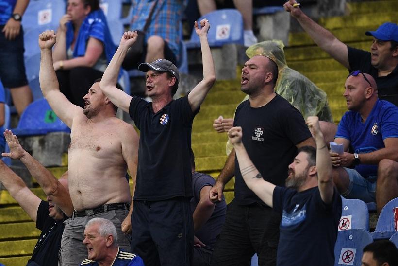 Navijači Dinama zadovoljni igrom i pobjedom Modrih