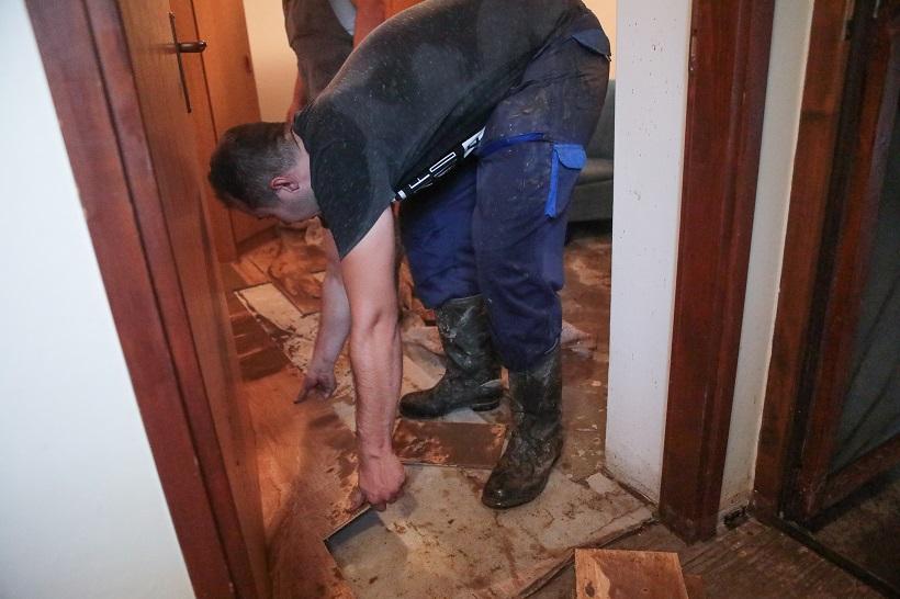Poplave na području Našica: U nekim mjestima voda je prodrla u kuće