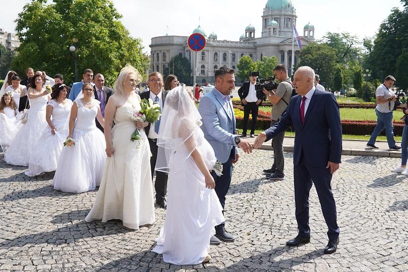 Nakon dužeg vremena ponovo održano kolektivno vjenčanje