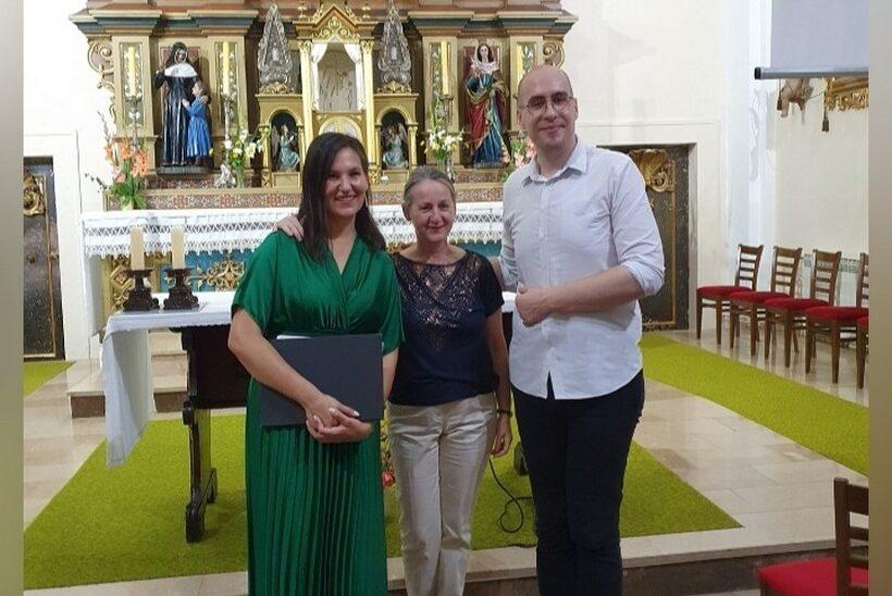 Mladi glazbenici: Gabrijela Deglin – sopran i Ivon Fabijanec – orgulje nastupili u uršulinskoj crkvi