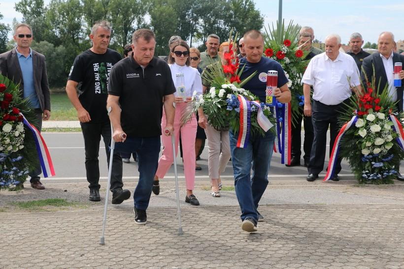 🎦 Obilježena 29. obljetnica pogibije pripadnika 105. bjelovarske brigade