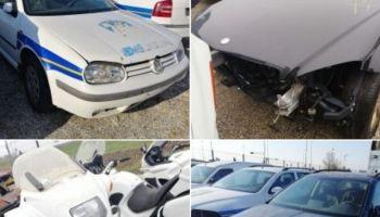 Prodaje se 155 vozila MUP-a, cijena već od 600 kuna, pogledajte što je sve u ponudi