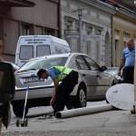 ZAMALO UBOJSTVO STUPOM Automobilom srušio električni stup na pješakinju; teško je ozlijeđena