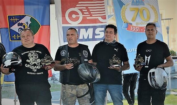Nedeljko, Ivica, Željko i Zvonimir – oni su najbolji križevački motociklisti