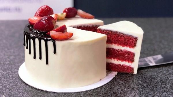 Красный бархат - торт: рецепт с фото пошагово в домашних ...