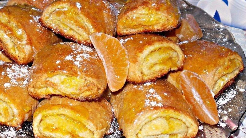 Апельсиновое печенье — великолепный десерт!
