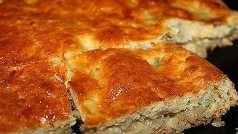 Пирог с капустой и яйцом🥰