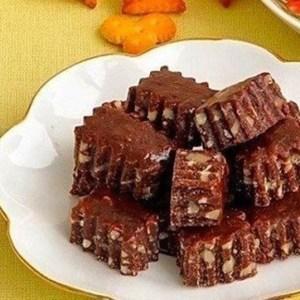 Шоколадно-ореховые тянучки