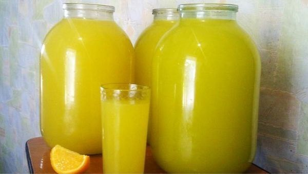 Из 4 апельсинов — 9 литров сока!