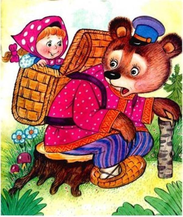 """Сказка с картинками """"Маша и медведь"""" - читать (14 фото ..."""