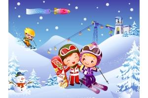 Рисунки детей на тему зимние виды спорта » Скачать лучшие ...