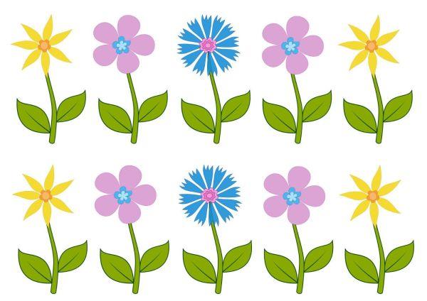 Цветы рисунок для детей » Скачать лучшие картинки ...
