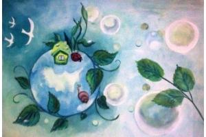Детские рисунки на тему окружающий мир » Скачать лучшие ...
