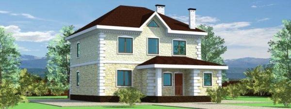Фото красивых двухэтажных домов » Скачать лучшие картинки ...