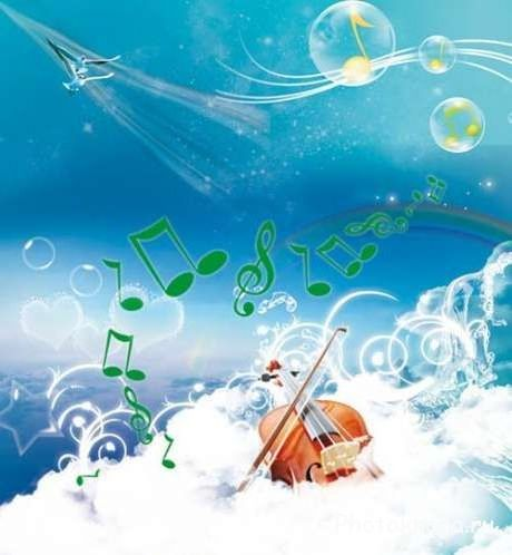Красивые музыкальные картинки ноты » Скачать лучшие ...