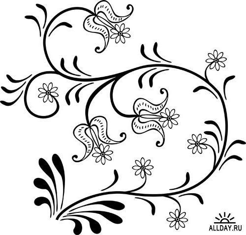 Стилизованные цветы картинки » Скачать лучшие картинки ...
